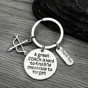 Sportybella Rowing Coach Keychain Great Coach is Hard to Find But Impossible to Forget Keychain Rowing Crew Coach Gifts